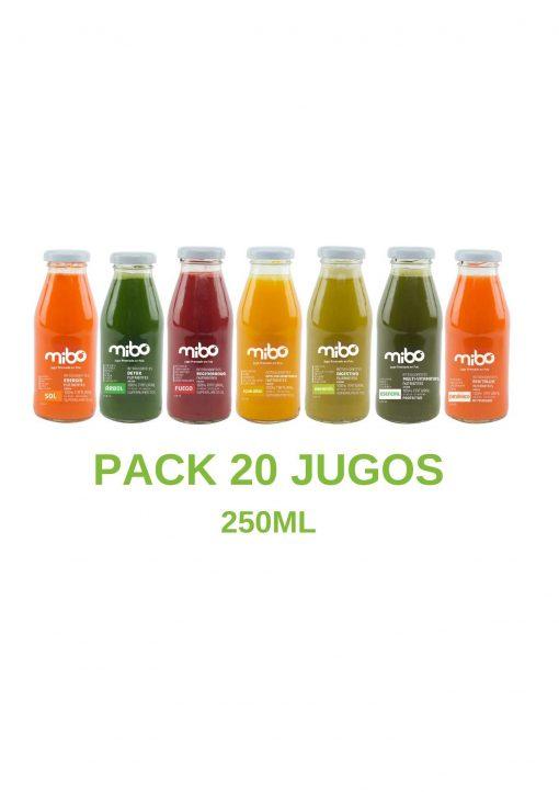 Pack jugos 250mL