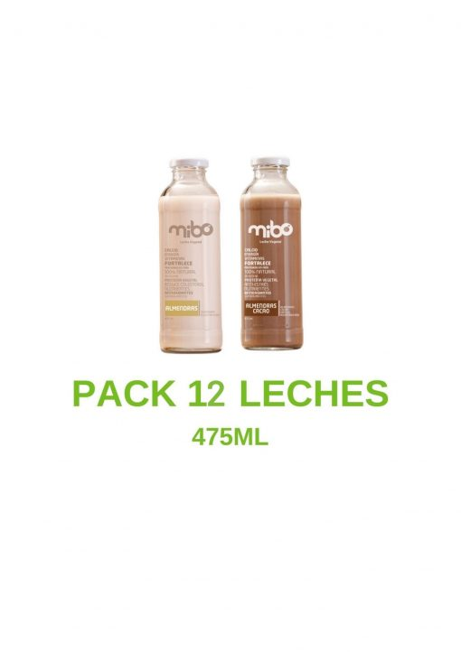 Pack leches 475mL