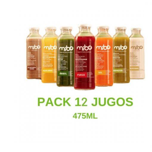 Pack Jugos 475mL